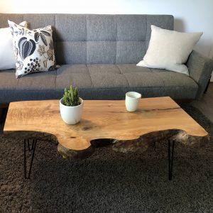 Table de salon en frêne