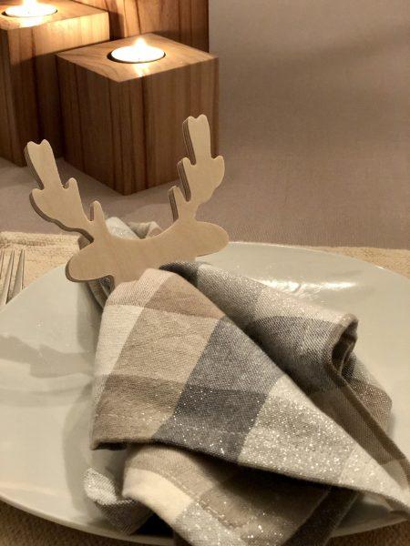 Anneaux à serviettes